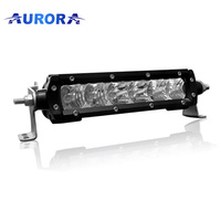 "AURORA 6"" SINGLE ROW LED LIGHT BAR 30W"