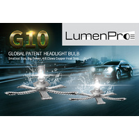 LUMENPRO ADR COMPLIANT LED HEADLIGHT GLOBES - Sold as a pair